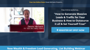 New Wealth and Freedom Lead Generating List Building Webinar