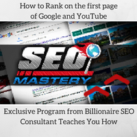 SEO Mastery Program How to Rank on the first page of Google and YouTube Ecommerce Trends Impact Business Education Continuing Education
